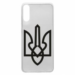 Чехол для Samsung A70 Simple coat of arms with sharp corners