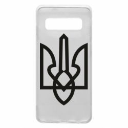 Чехол для Samsung S10 Simple coat of arms with sharp corners