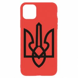 Чехол для iPhone 11 Simple coat of arms with sharp corners
