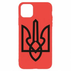 Чехол для iPhone 11 Pro Simple coat of arms with sharp corners
