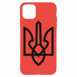 Чехол для iPhone 11 Pro Max Simple coat of arms with sharp corners