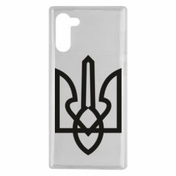 Чехол для Samsung Note 10 Simple coat of arms with sharp corners