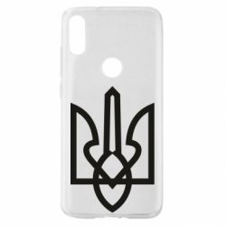 Чехол для Xiaomi Mi Play Simple coat of arms with sharp corners