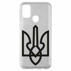 Чехол для Samsung M30s Simple coat of arms with sharp corners