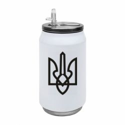 Термобанка 350ml Simple coat of arms with sharp corners