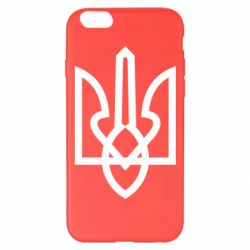 Чехол для iPhone 6 Plus/6S Plus Simple coat of arms with sharp corners
