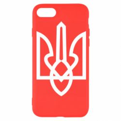 Чехол для iPhone 7 Simple coat of arms with sharp corners