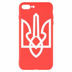 Чехол для iPhone 7 Plus Simple coat of arms with sharp corners