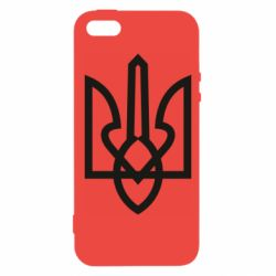 Чехол для iPhone5/5S/SE Simple coat of arms with sharp corners