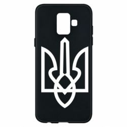 Чехол для Samsung A6 2018 Simple coat of arms with sharp corners