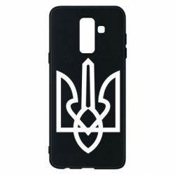 Чехол для Samsung A6+ 2018 Simple coat of arms with sharp corners