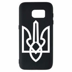 Чехол для Samsung S7 Simple coat of arms with sharp corners