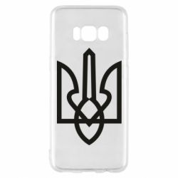 Чехол для Samsung S8 Simple coat of arms with sharp corners