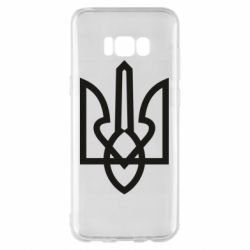Чехол для Samsung S8+ Simple coat of arms with sharp corners