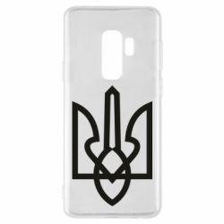 Чехол для Samsung S9+ Simple coat of arms with sharp corners