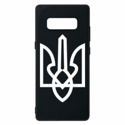 Чехол для Samsung Note 8 Simple coat of arms with sharp corners