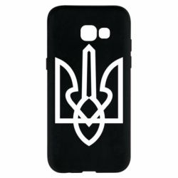 Чехол для Samsung A5 2017 Simple coat of arms with sharp corners