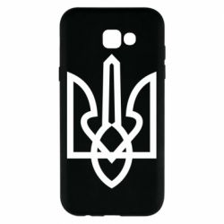 Чехол для Samsung A7 2017 Simple coat of arms with sharp corners