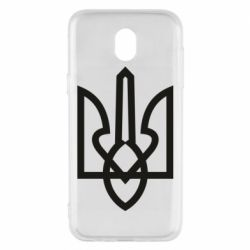 Чехол для Samsung J5 2017 Simple coat of arms with sharp corners