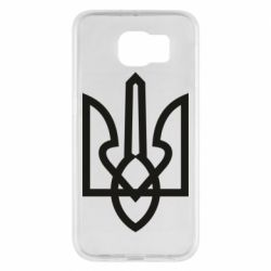 Чехол для Samsung S6 Simple coat of arms with sharp corners