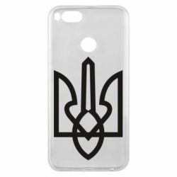Чехол для Xiaomi Mi A1 Simple coat of arms with sharp corners
