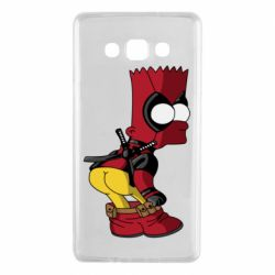 Чохол для Samsung A7 2015 Simpson Kiss my Ass Deadpool