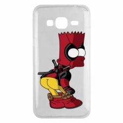 Чохол для Samsung J3 2016 Simpson Kiss my Ass Deadpool