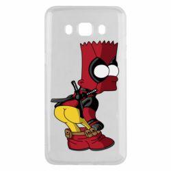 Чохол для Samsung J5 2016 Simpson Kiss my Ass Deadpool