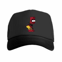 Кепка-тракер Simpson Kiss my Ass Deadpool