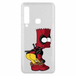 Чохол для Samsung A9 2018 Simpson Kiss my Ass Deadpool