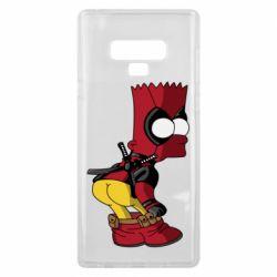Чохол для Samsung Note 9 Simpson Kiss my Ass Deadpool