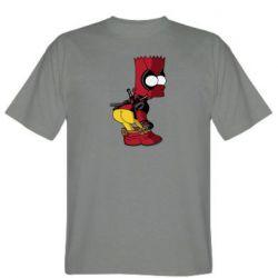 Чоловіча футболка Simpson Kiss my Ass Deadpool