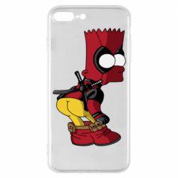 Чохол для iPhone 7 Plus Simpson Kiss my Ass Deadpool