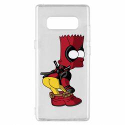 Чохол для Samsung Note 8 Simpson Kiss my Ass Deadpool