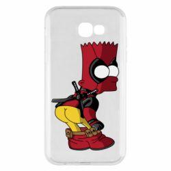 Чохол для Samsung A7 2017 Simpson Kiss my Ass Deadpool