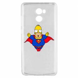 Чехол для Xiaomi Redmi 4 Simpson superman