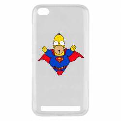 Чехол для Xiaomi Redmi 5A Simpson superman