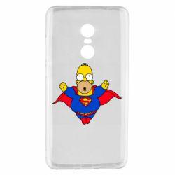 Чехол для Xiaomi Redmi Note 4 Simpson superman