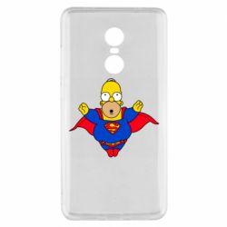 Чехол для Xiaomi Redmi Note 4x Simpson superman