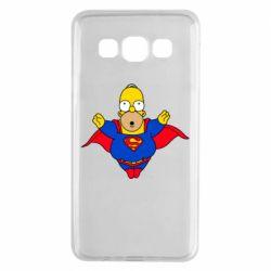 Чехол для Samsung A3 2015 Simpson superman