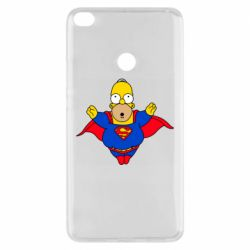 Чехол для Xiaomi Mi Max 2 Simpson superman