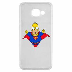 Чехол для Samsung A3 2016 Simpson superman