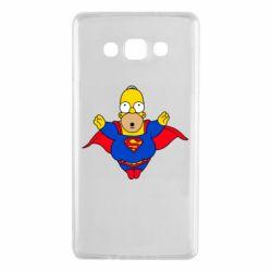 Чехол для Samsung A7 2015 Simpson superman