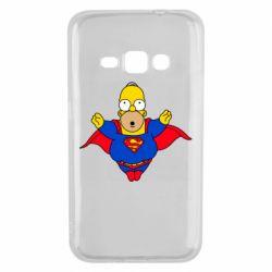 Чехол для Samsung J1 2016 Simpson superman