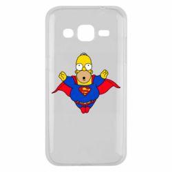 Чехол для Samsung J2 2015 Simpson superman