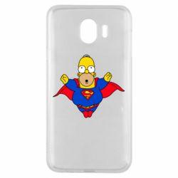 Чехол для Samsung J4 Simpson superman