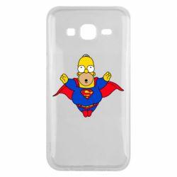 Чехол для Samsung J5 2015 Simpson superman