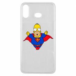 Чехол для Samsung A6s Simpson superman