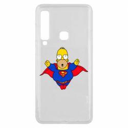 Чехол для Samsung A9 2018 Simpson superman