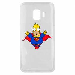 Чехол для Samsung J2 Core Simpson superman